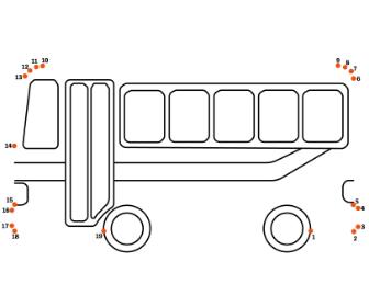 点つなぎ バス
