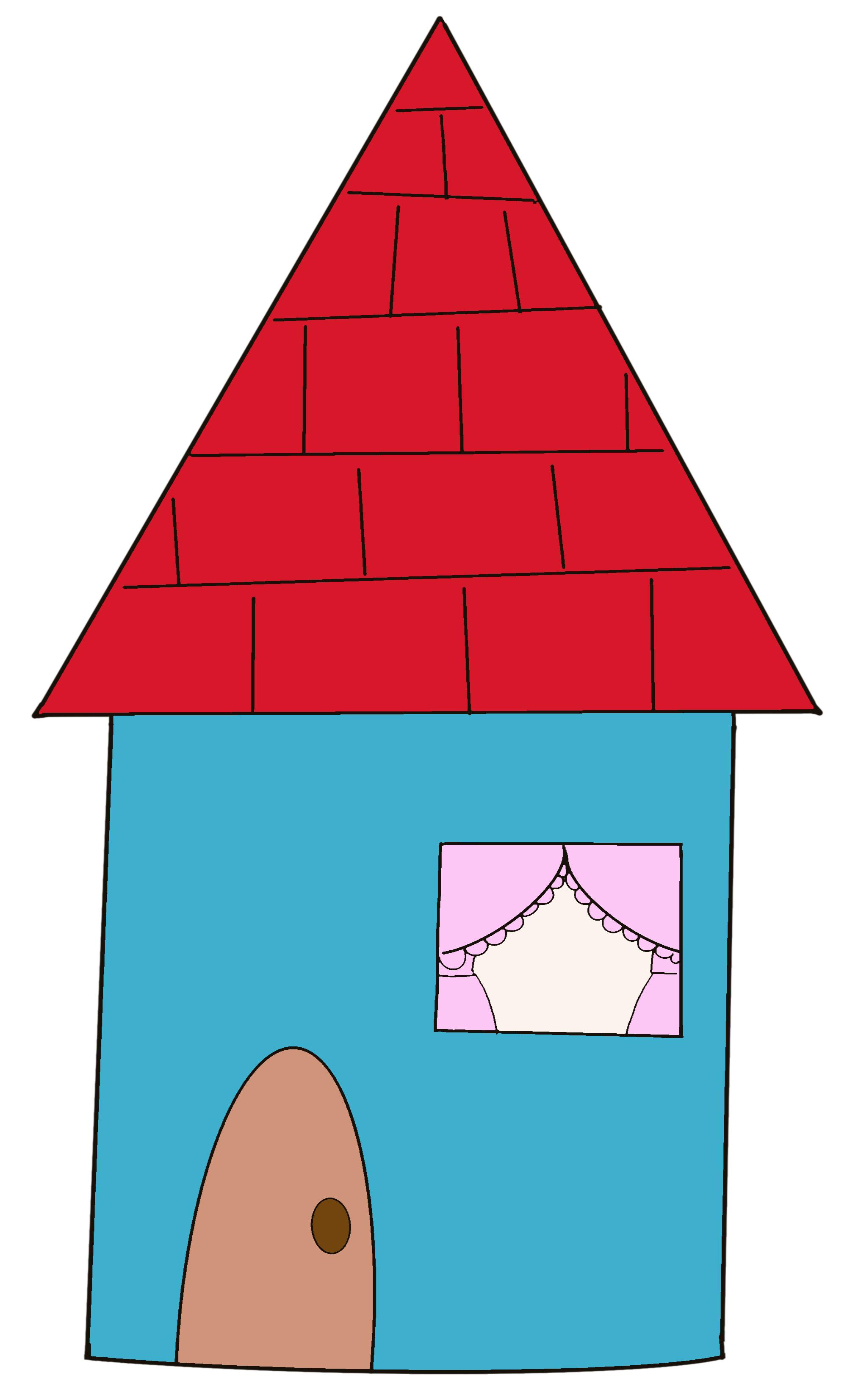 点つなぎ 家(完成一例)
